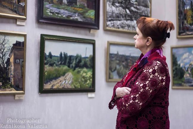 """Бизнес-клуб """"Империал"""": Художественная выставка ДРУГУ"""