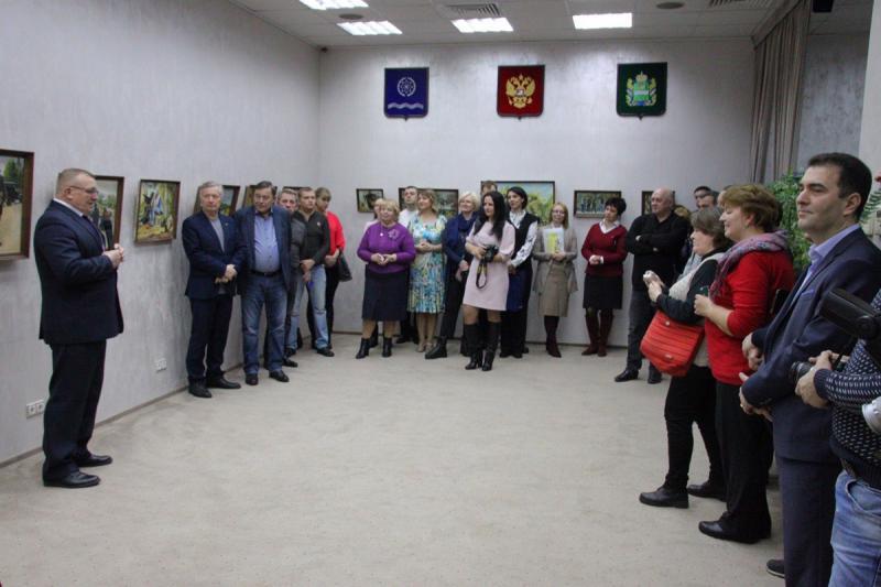 """Бизнес-клуб """"Империал"""": Персональная выставка Олега Колмакова"""